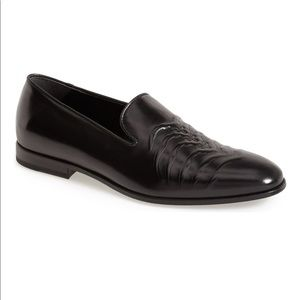 Alexander McQueen Ribcage Loafers Black Leather 11